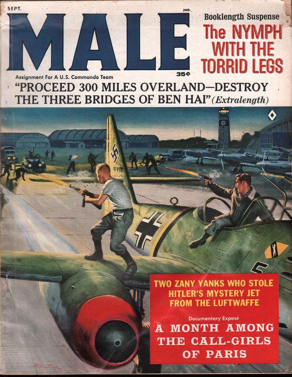 Male Magazine September 1962