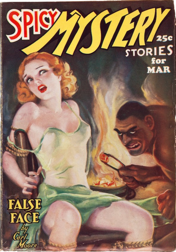 Spicy Mystery Stories March 1937
