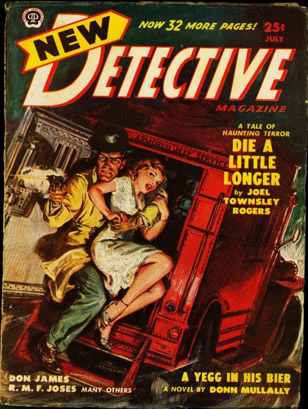 New Detective July 1950