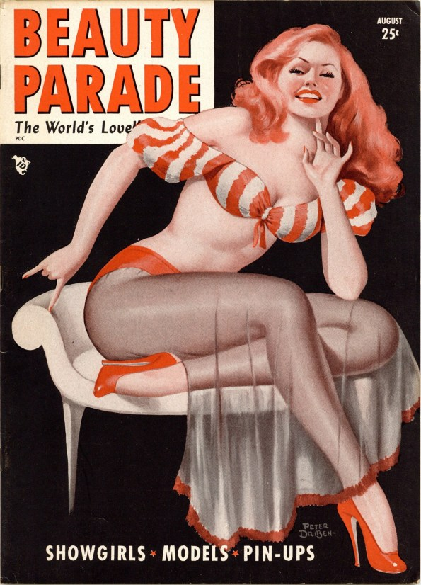 Beauty Parade, August 1948