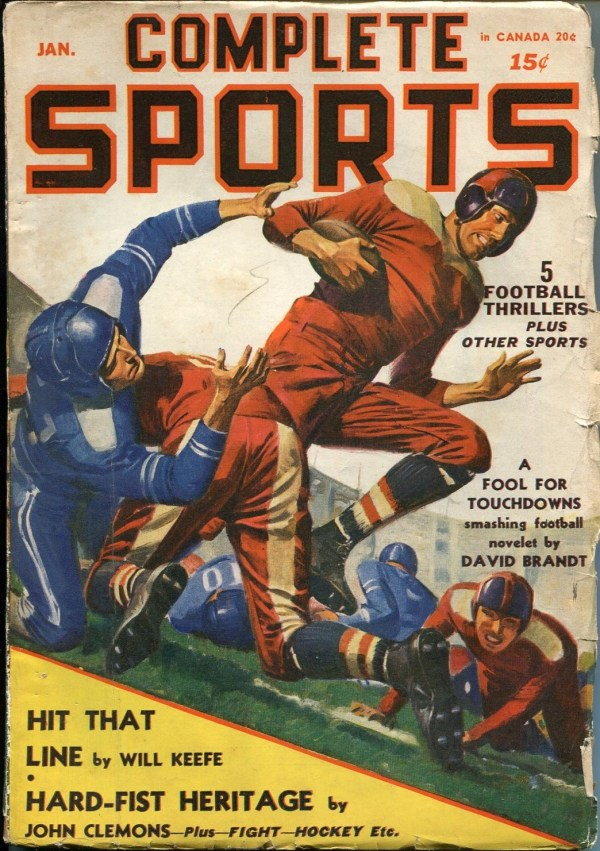 Complete Sports January 1941