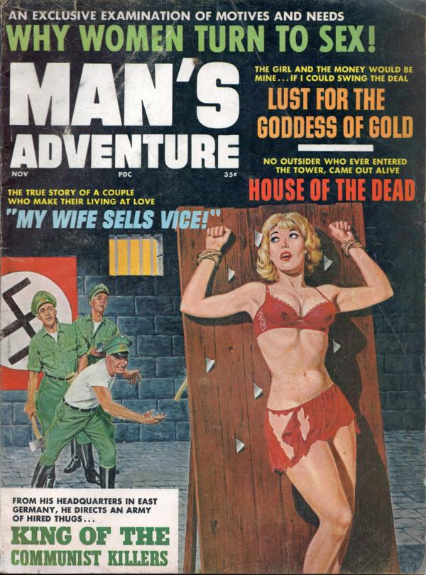 MANS ADVENTURE November 1965