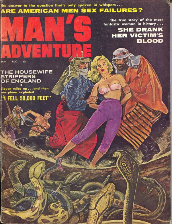 Man's Adventure May 1961
