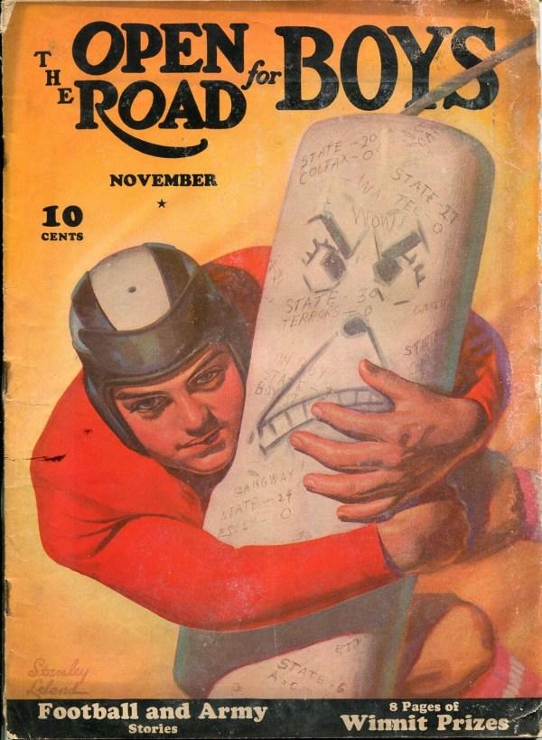 Open Road For Boys November 1940