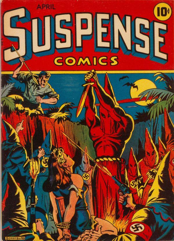 Suspense Comics #3 1944