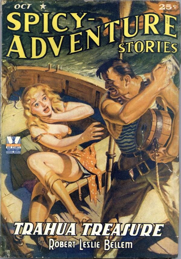 Spicy Adventure Stories - October 1942