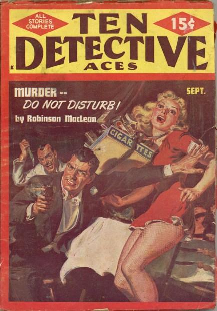Ten Detective Aces September 1949
