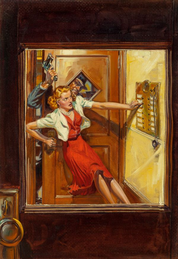 Variety Detective pulp magazine cover, October 1939