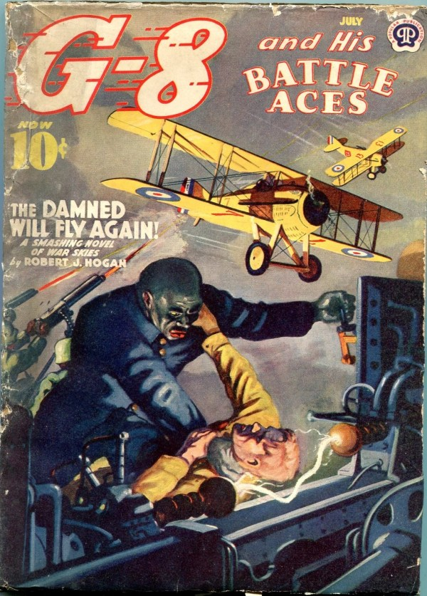 G-8 And His Battle Aces Issue July 1940