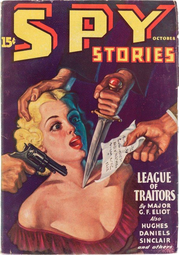 Spy Stories - October 1935
