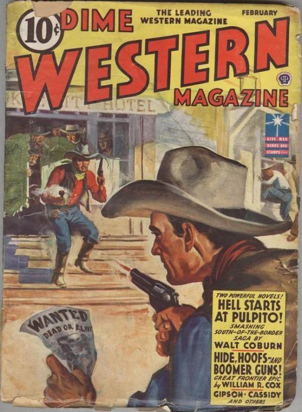 Dime Western Magazine February 1943
