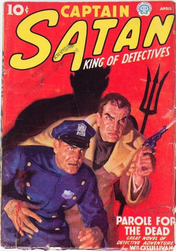 Captain Satan - April 1938