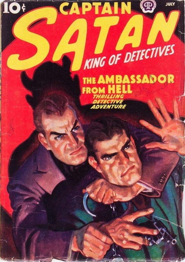 Captain Satan - July 1938