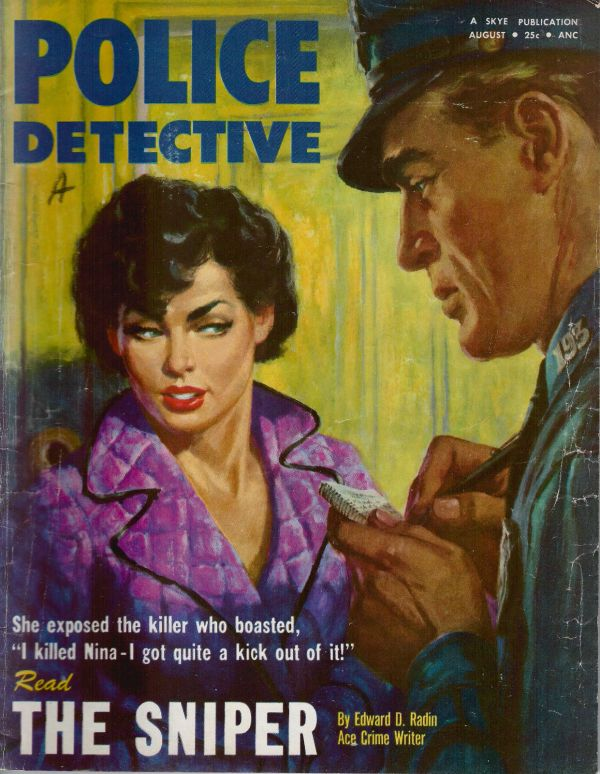 Police Detective August 1954