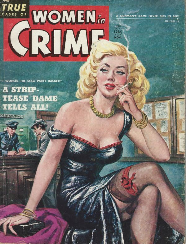 Women In Crime November 1950