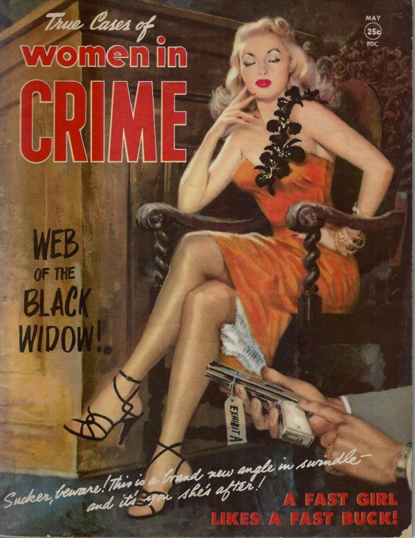 Women in Crime May 1952