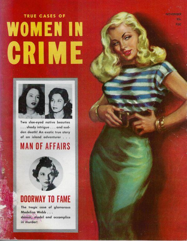 Women in Crime November 1953