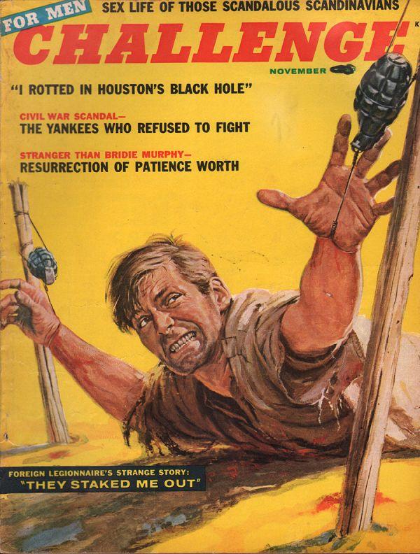 Challenge For Men November 1955