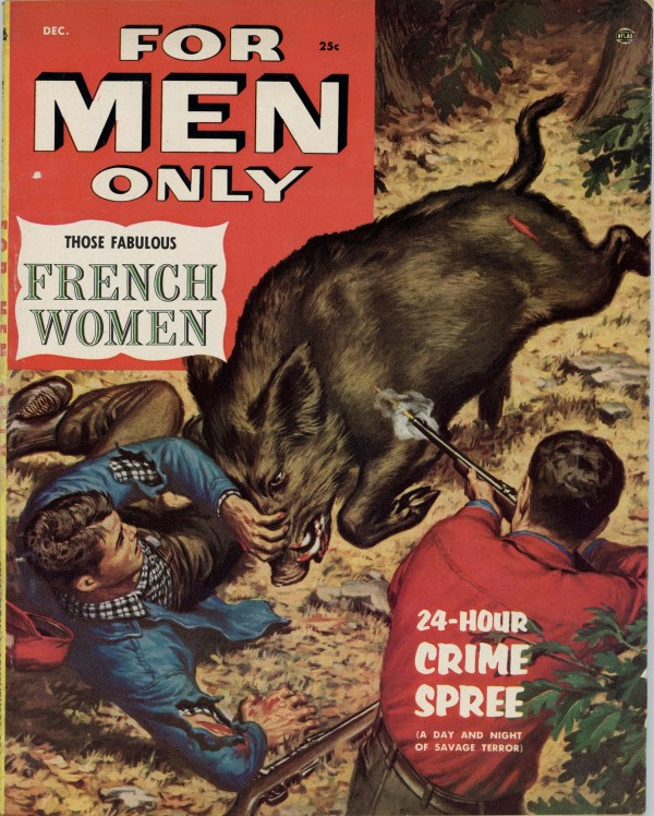 For Men Only December 1954