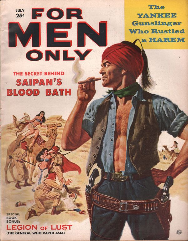 For Men Only July 1957