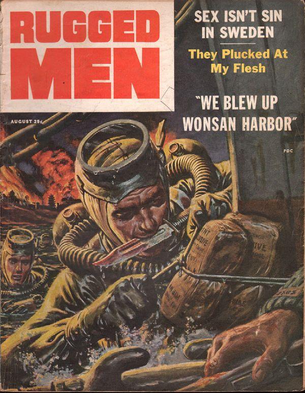 Rugged Men August 1956