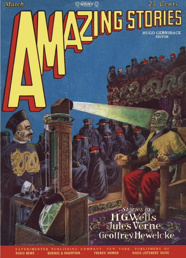 Amazing Stories March 1928