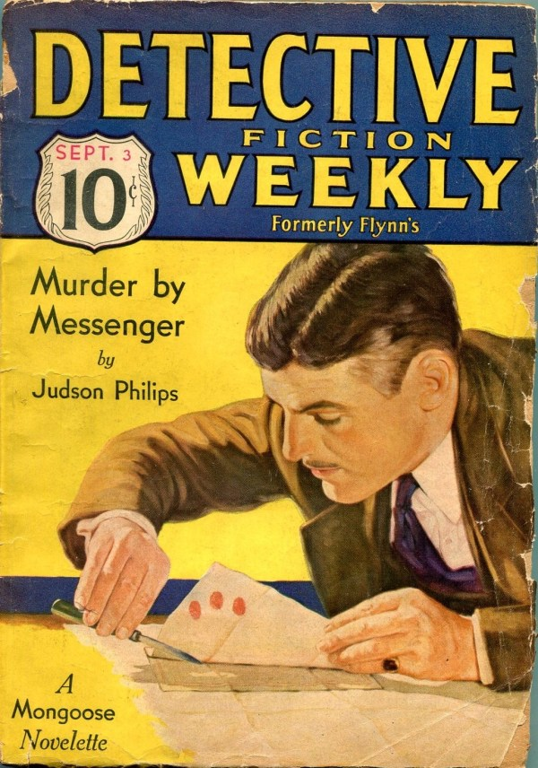 Detective Fiction Weekly September 3 1932