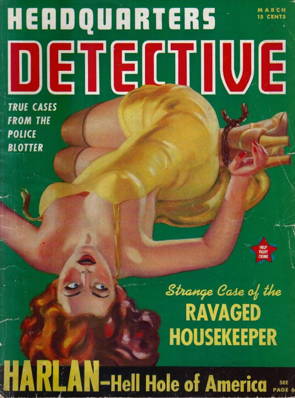 Headquarters Detective March 1941