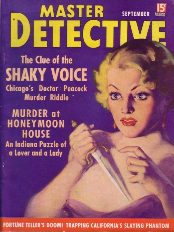 Master Detective September 1936
