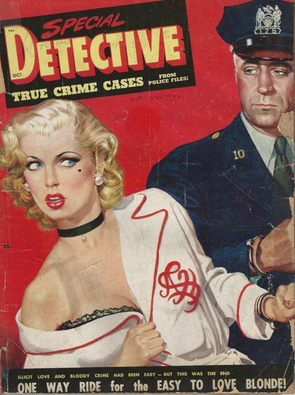 Special Detective October 1949