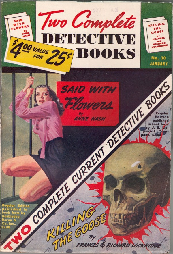 TWO COMPLETE DETECTIVE BOOKS January 1945