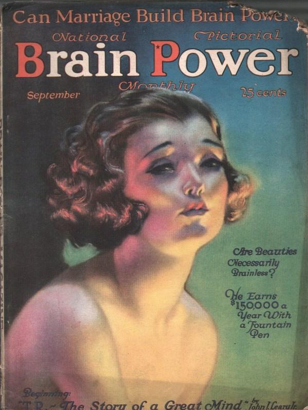 Brain Power September 1921