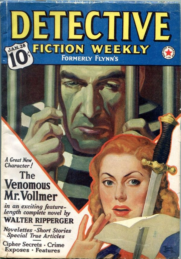 Detective Fiction Weekly January 28 1939