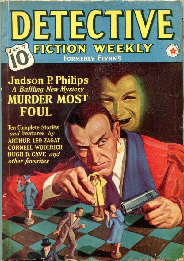 Detective Fiction Weekly January 7 1939
