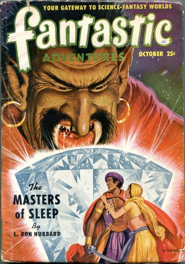 Fantastic Adventures October 1950