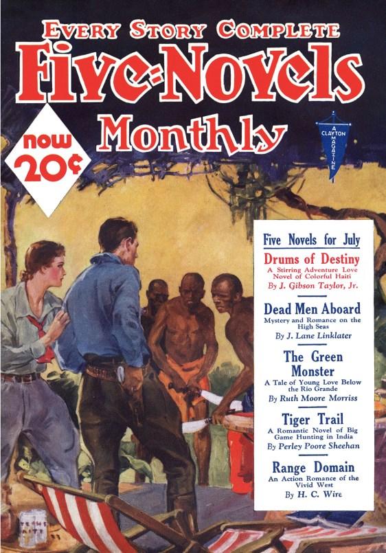 Five Novels July 1933