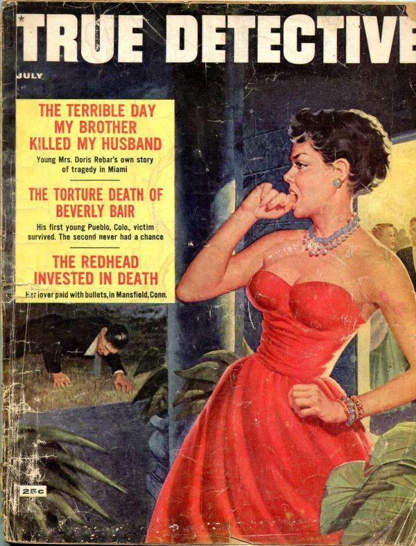 True Detective July 1958