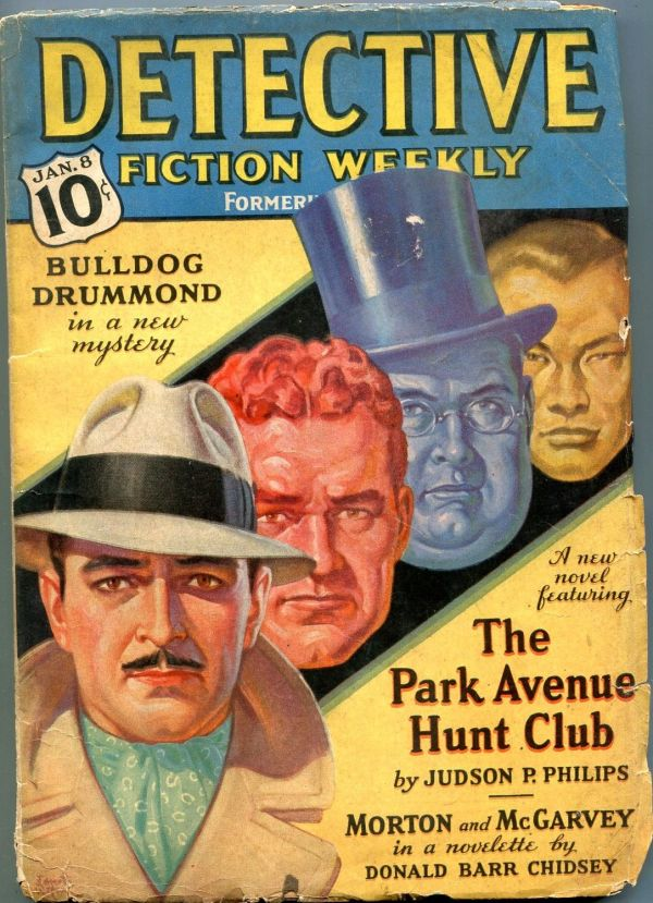 Detective Fiction Weekly January 8 1938