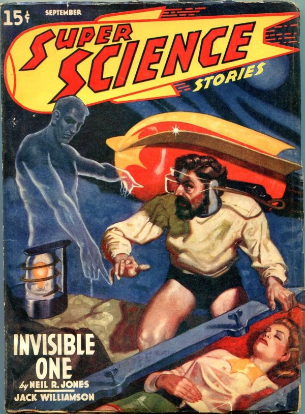 Super Science Issue #4 September 1940