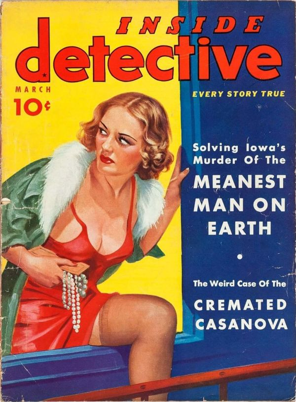 Inside Detective March 1938