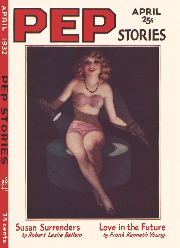 Pep Stories April 1932