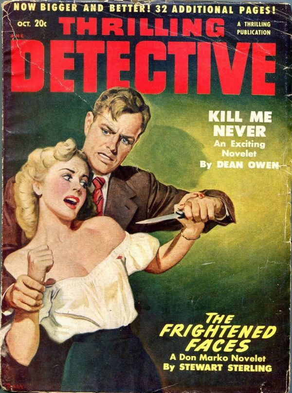 Thrilling Detective October 1950