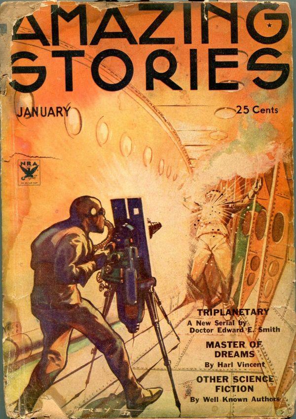 Amazing Stories January 1934