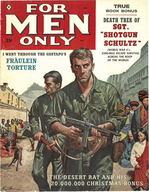 For Men Only Feb 1959
