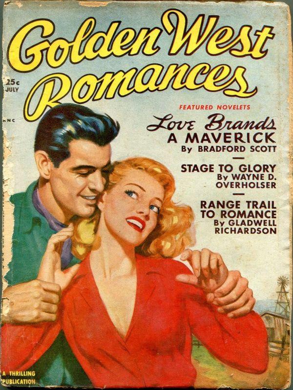 Golden West Romances July 1950