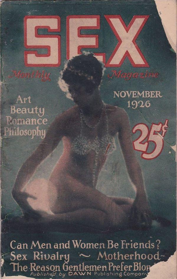 Sex Monthly Magazine November 1926
