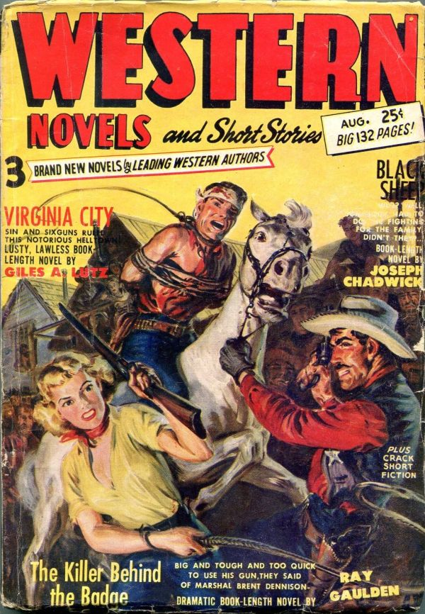 Western Novels And Short Stories August 1952