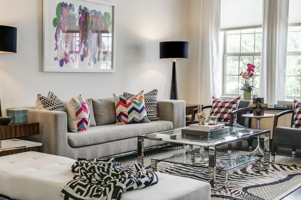 Before + After: A Townhouse Living Room Refresh