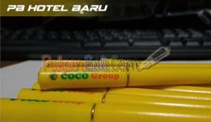 pulpen promosi model hotel baru cetak pesanan coco group