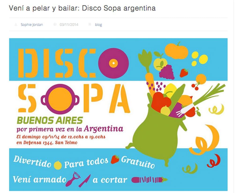 ef234c5aa8667 Vení a pelar y a bailarAutor  Disco Sopa · Lugar  Buenos Aires · Fecha   11 2014 · Licencia  cc-by